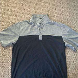 Travis Mathew Golf T-Shirt Polo Size L